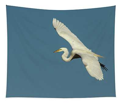 Great Egret 2014-10 Tapestry