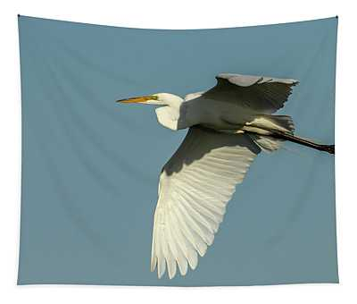 Great Egret 2014-11 Tapestry