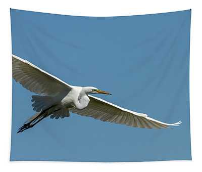 Great Egret 2014-2 Tapestry