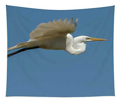 Great Egret 2014-4 Tapestry