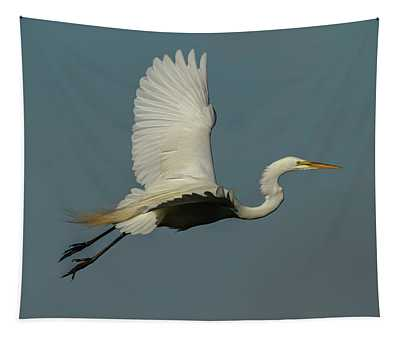 Great Egret 2014-7 Tapestry