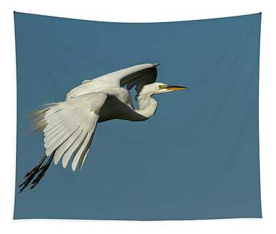 Great Egret 2014-8 Tapestry