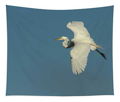 Great Egret 2014-9 Tapestry