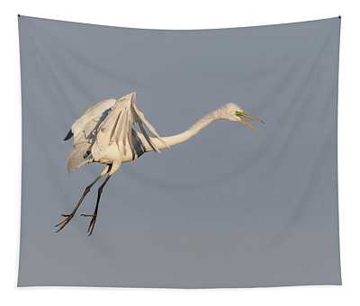 Great Egret 2017-8 Tapestry