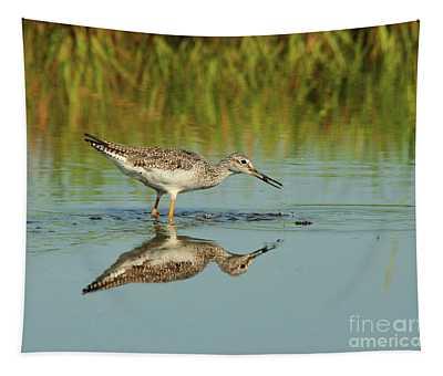 Greater Yellowlegs Shorebird Tapestry