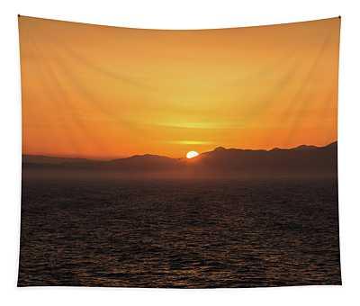 Grecian Sunrise Tapestry