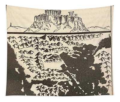 Greece Tapestry