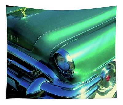Green 1955 Buick Special Tapestry