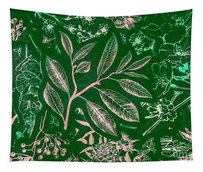 Green Composition Tapestry