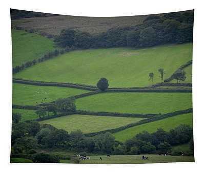 Green Fields Tapestry