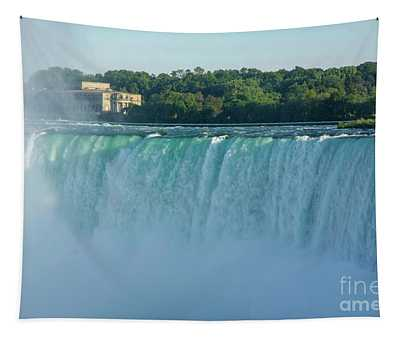 Green Overflow Tapestry