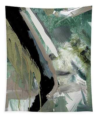 green stripe II Tapestry