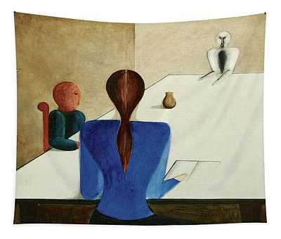 Group At Table, 1923 Tapestry