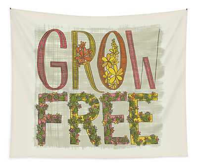 Grow Free Flowering Cacti Tapestry