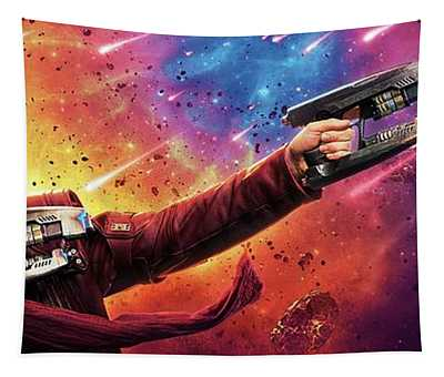 Guardians Of The Galaxy Star-lord Tapestry