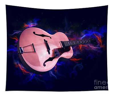 Guitar Art Tapestry