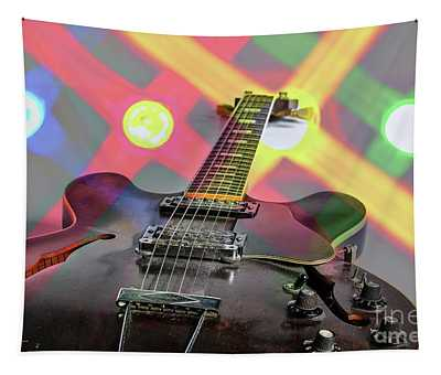 Guitar Image By Gibson Canvas Print 1744.25 Tapestry