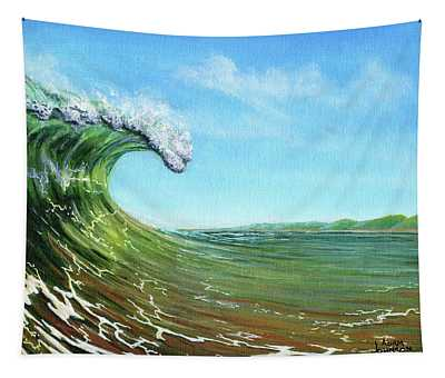Gulf Of Mexico Surf Tapestry