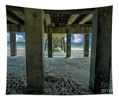 Gulf Shores Park And Pier Al 1649b Tapestry
