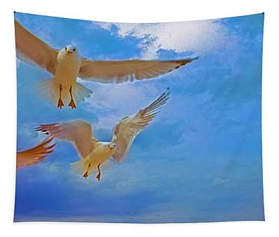 Gulls, Stop, Action,  Tapestry