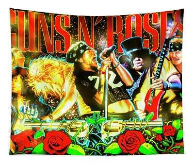 Guns N' Roses Pinball Tapestry