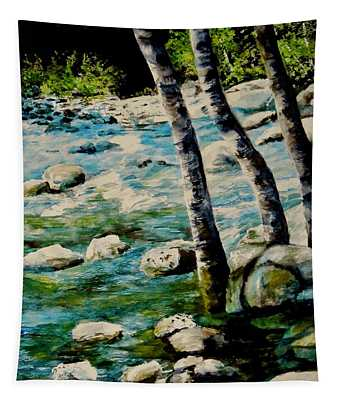 Gushing Waters Tapestry