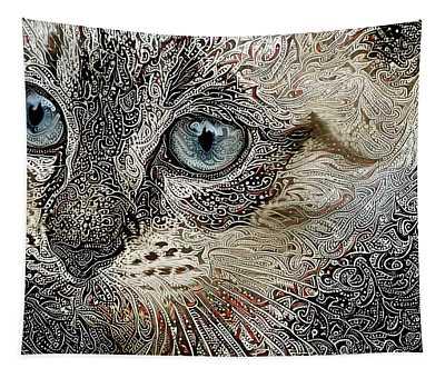 Gypsy The Siamese Kitten Tapestry