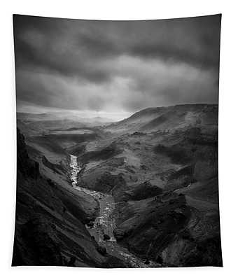 Haifoss Valley II Tapestry