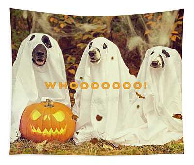 Halloween Hounds Tapestry