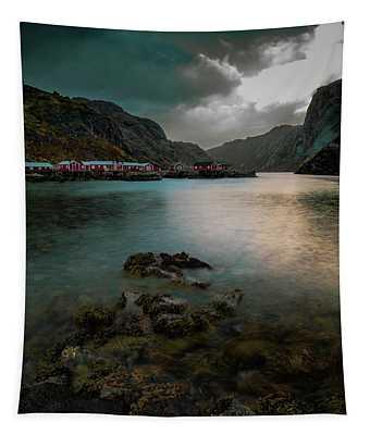 Hamnoy, Lofoten Islands Tapestry