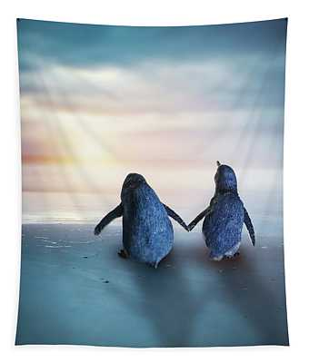 Happy Feet Tapestry