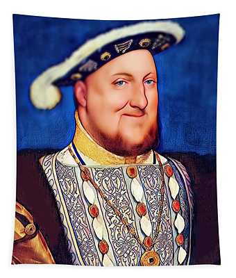 Happy Henry Tapestry