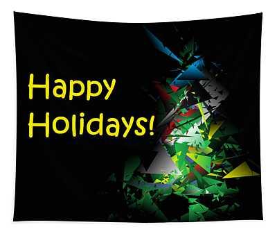 Happy Holidays - 2018-1 Tapestry
