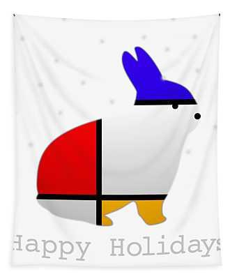Happy Holidays Tapestry