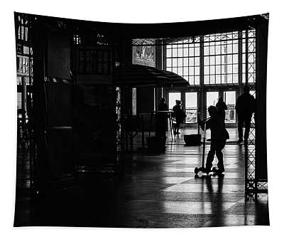 Tapestry featuring the photograph Happy Kid by Steve Stanger