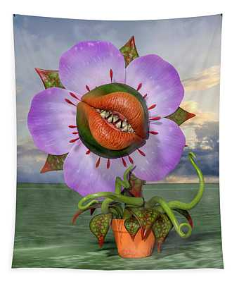 Carnivorous Plants Wall Tapestries