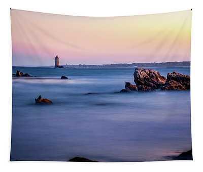Harbor Light Tapestry