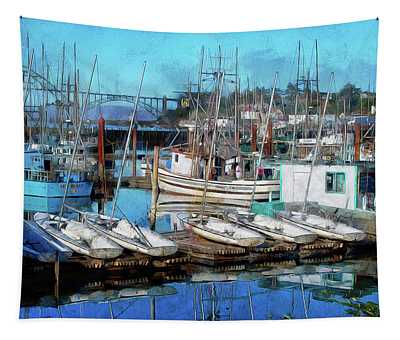 Harbor View Tapestry