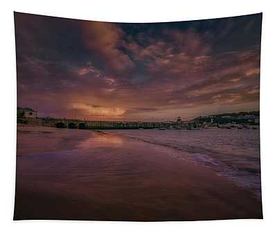 Harbour Sunset - St Ives Cornwall Tapestry