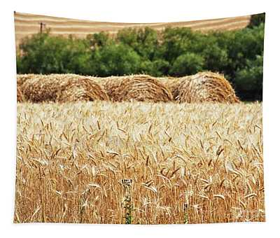 Harvest Time In Idaho Tapestry