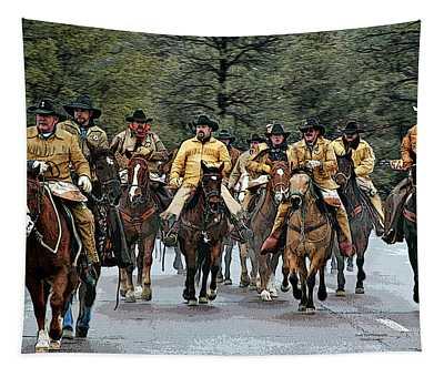 Hashknife Riders Tapestry