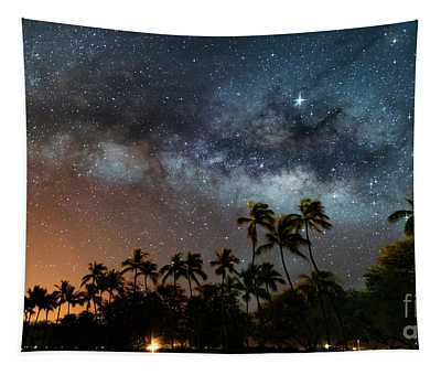 Hawaii Night Tapestry
