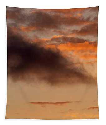 Hawaiian Sunset Vertical Panoramic  Tapestry
