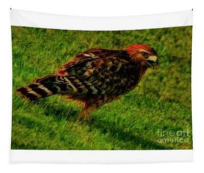 Hawk Walk Tapestry