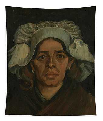 Head Of A Woman - 2 Tapestry
