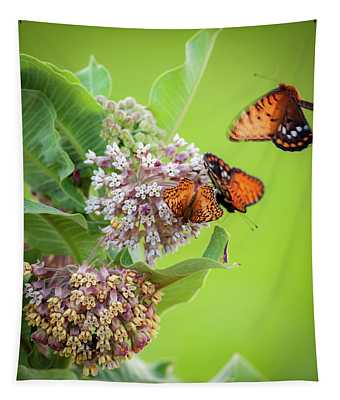 Head Over Heals For Milkweed Tapestry