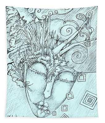 Head Over Heals Tapestry