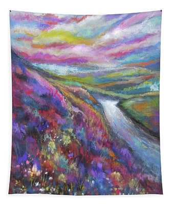 Heathered Hills Tapestry