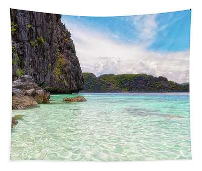 Heavenly Blue Tapestry