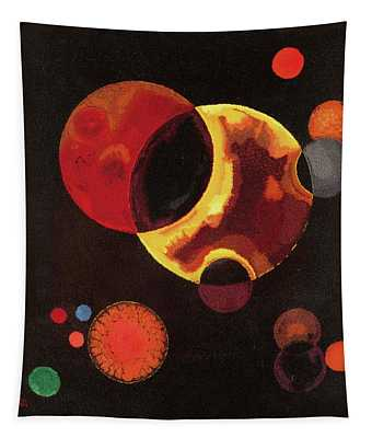 Heavy Circles Tapestry